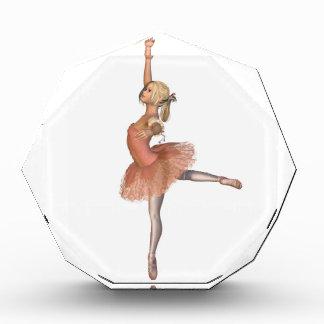 バレエの性能-態度の姿勢 表彰盾