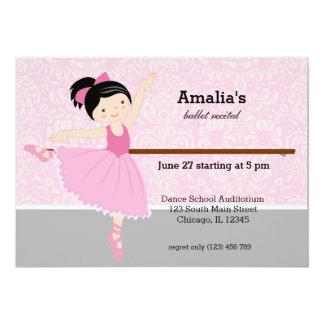 バレエの演奏会 カード
