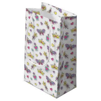 バレエの王女パターン スモールペーパーバッグ