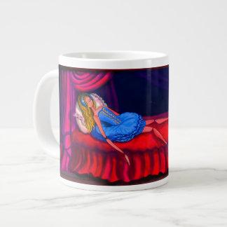 バレエの眠れる森の美女のマグ、バレリーナ ジャンボコーヒーマグカップ