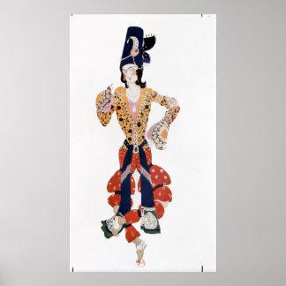バレエのNijinskyのための衣裳 ポスター