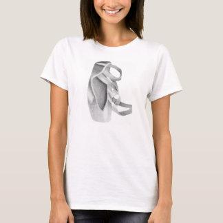 バレエのPointeの靴 Tシャツ