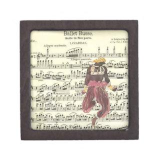 バレエのRusseの音楽及びダンス ギフトボックス