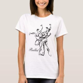 バレエのTシャツ Tシャツ