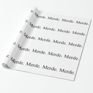 バレエダンサーのためのMerdeの包装紙 ラッピングペーパー