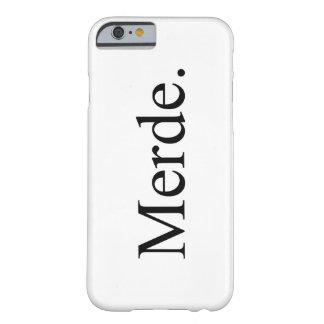バレエダンサーのためのMerde Iphone 6/6sの電話箱 Barely There iPhone 6 ケース