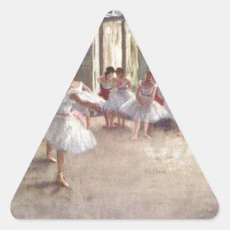 バレエダンサーのガスを抜いて下さい 三角形シール