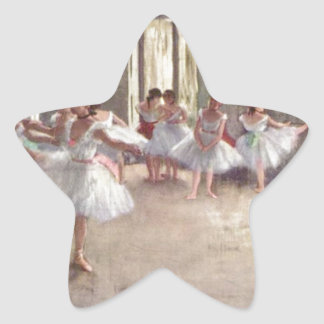 バレエダンサーのガスを抜いて下さい 星シール