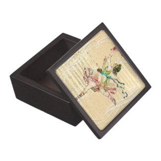 バレエダンサーのギフト用の箱 ギフトボックス