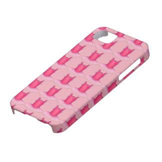 バレエダンサーのバレリーナのチュチュのピンクのSmartphoneの場合 iPhone SE/5/5s ケース
