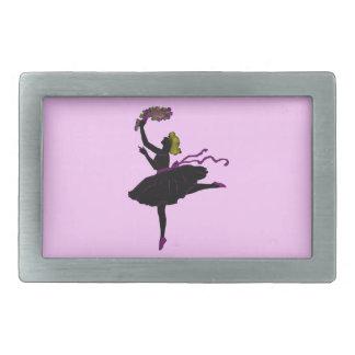 バレエダンサーのベルトの留め金 長方形ベルトバックル