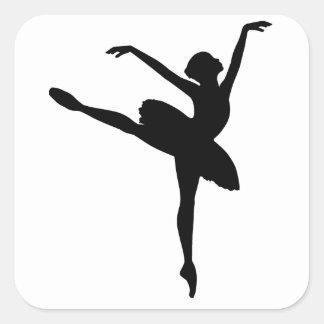 バレエダンサー スクエアシール