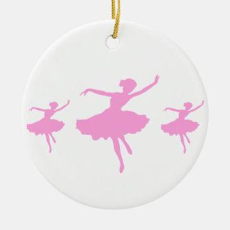 バレエダンサー セラミックオーナメント