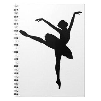 バレエダンサー ノートブック