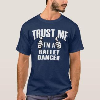 バレエダンサー- Tシャツ
