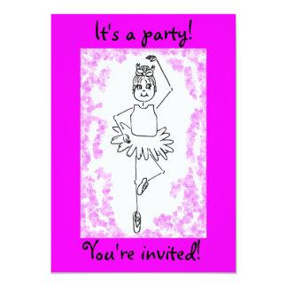 バレエ3のそれはパーティーです! 、招待されました! カード