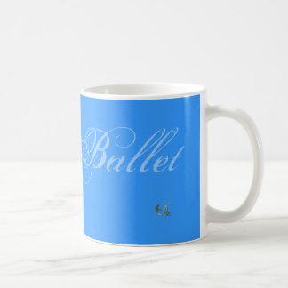 バレエ コーヒーマグカップ