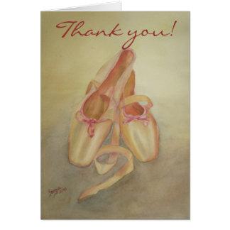 バレエ|靴|感謝していして下さい||カード グリーティング・カード
