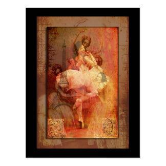 バレエdeフランス ポストカード