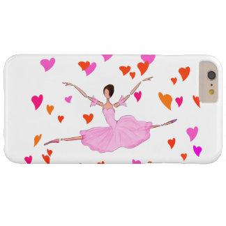 バレエIPHONEカバー、壮大なJETEを跳んでいるバレリーナ iPhone 6 PLUS ベアリーゼアケース