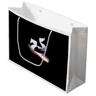 バレエPointeはギフトバッグに蹄鉄を打ちます ラージペーパーバッグ