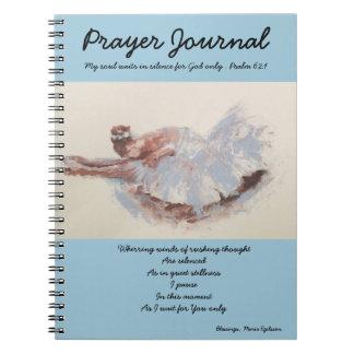 バレリーナが付いている祈りの言葉ジャーナル ノートブック