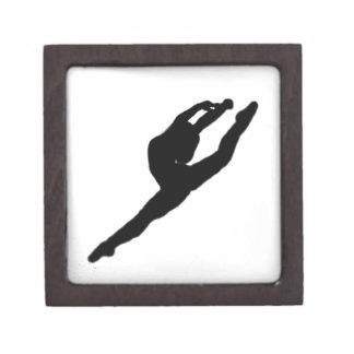 バレリーナのダンサーのギフト用の箱 ギフトボックス