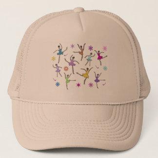 バレリーナのダンスの帽子 キャップ