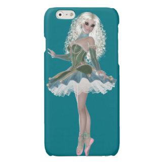バレリーナのバレエのiPhone 6/6sの光沢のある終わりの場合 光沢iPhone 6ケース