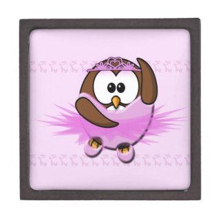 バレリーナのフクロウ ギフトボックス