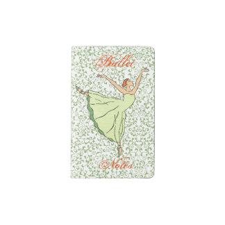 バレリーナの優美 ポケットMoleskineノートブック