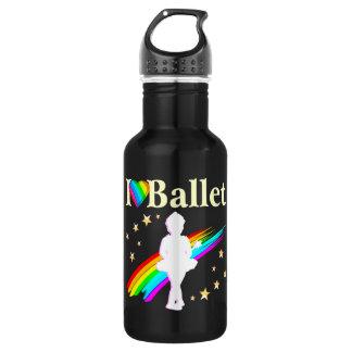 バレリーナの夢は本当を来ます ウォーターボトル