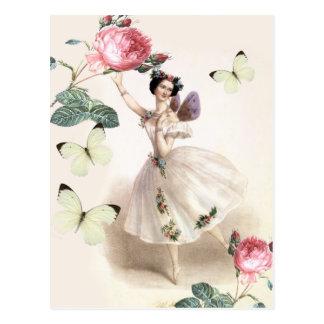 バレリーナの妖精 ポストカード