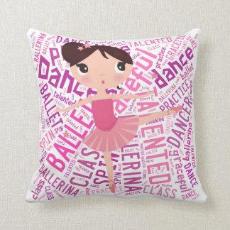 バレリーナの枕 クッション