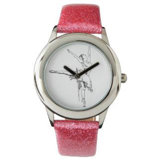 バレリーナの腕時計 腕時計