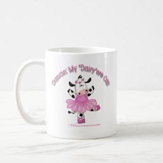 バレリーナ牛 コーヒーマグカップ