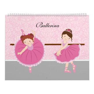 バレリーナ カレンダー