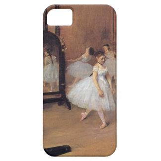 バレリーナ、ダンス教室のiPhoneの場合のガスを抜いて下さい iPhone SE/5/5s ケース