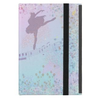 バレリーナ、音楽、猫、女の子のための馬のファンタジー iPad MINI ケース