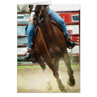 バレルの競走馬 カード