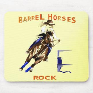 バレルの馬の石 マウスパッド