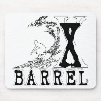 バレルXの限られた波の輪郭 マウスパッド