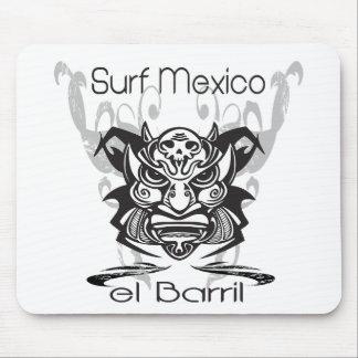 バレルXの限られた波メキシコ マウスパッド
