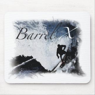 バレルXの限られた波 マウスパッド