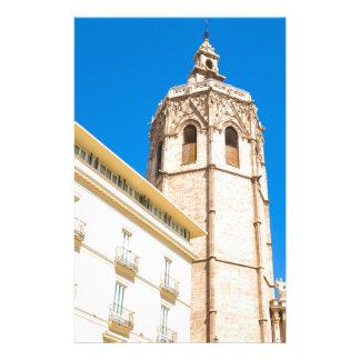 バレンシア、スペインのタワー 便箋
