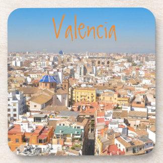 バレンシア、スペインの空中写真 コースター