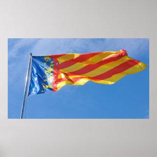 バレンシア、スペイン ポスター