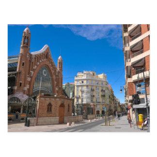 バレンシア、スペイン ポストカード