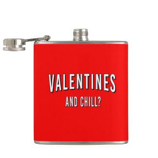バレンタインおよび冷えか。 フラスク