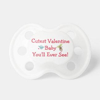 バレンタインのための最もかわいい赤ん坊BINKYの調停者 おしゃぶり